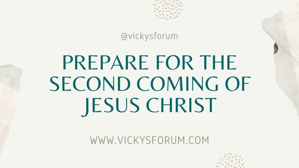 Jesus is coming back soon