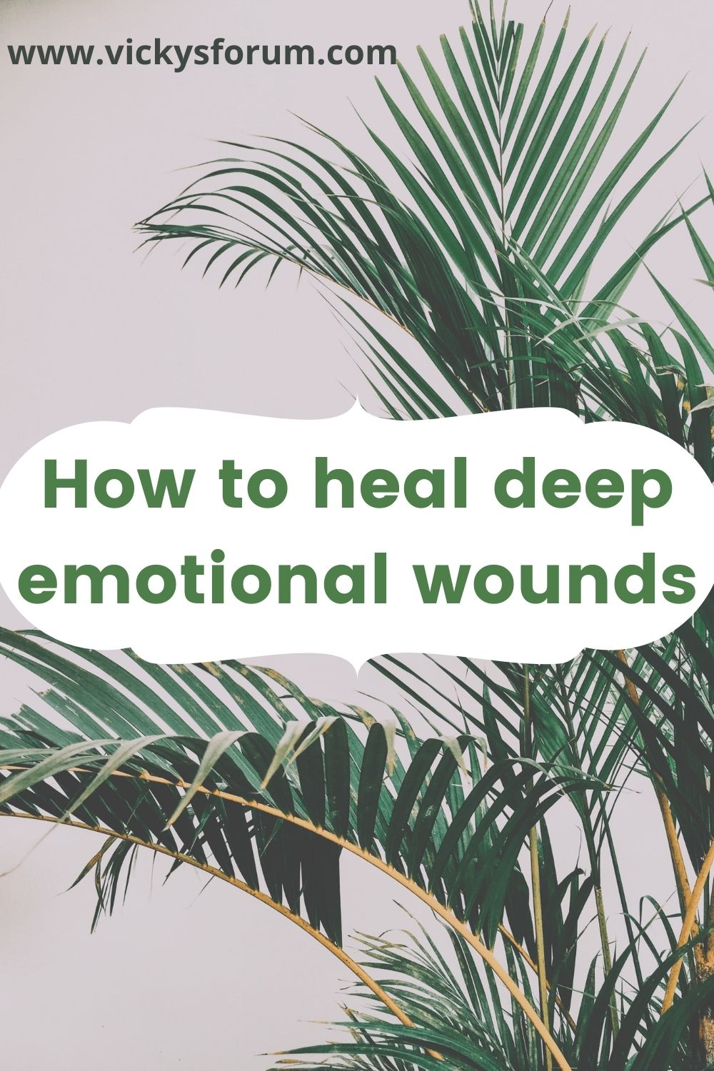 Going from hurt to healed