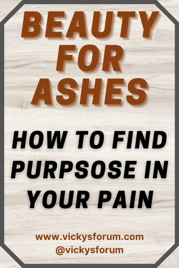 Purpose through pain