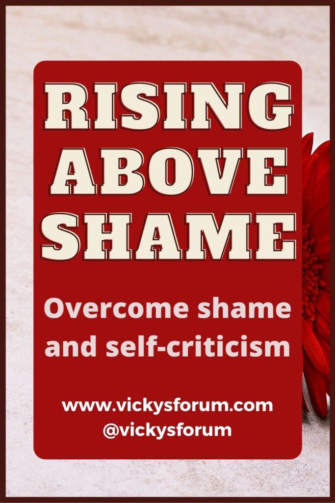 Overcoming shame and guilt