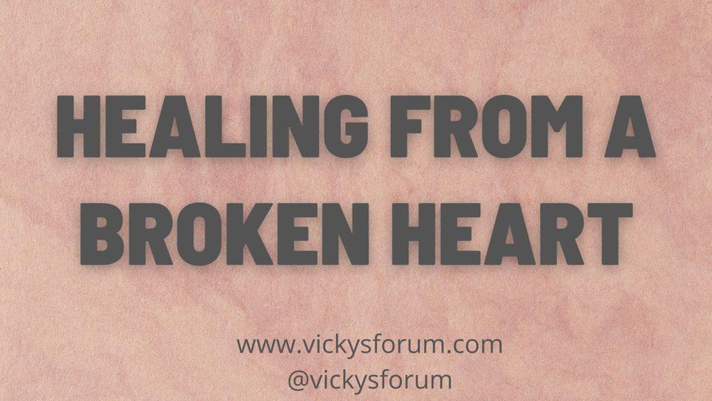God heals the brokenhearted