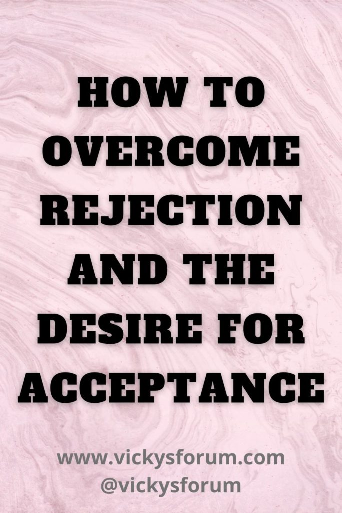 The desire for acceptance